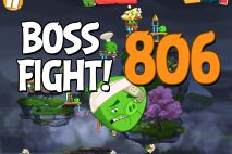 Angry Birds 2 Boss Fight Level 806 Walkthrough – Cobalt Plateaus Copacabacon