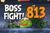 Angry Birds 2 Boss Fight Level 813 Walkthrough – Cobalt Plateaus Copacabacon