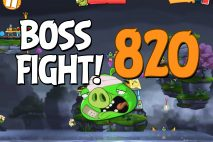 Angry Birds 2 Boss Fight Level 820 Walkthrough – Cobalt Plateaus Copacabacon