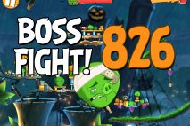 Angry Birds 2 Boss Fight Level 826 Walkthrough – Bamboo Forest Snout Slough