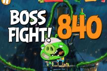 Angry Birds 2 Boss Fight Level 840 Walkthrough – Bamboo Forest Snout Slough
