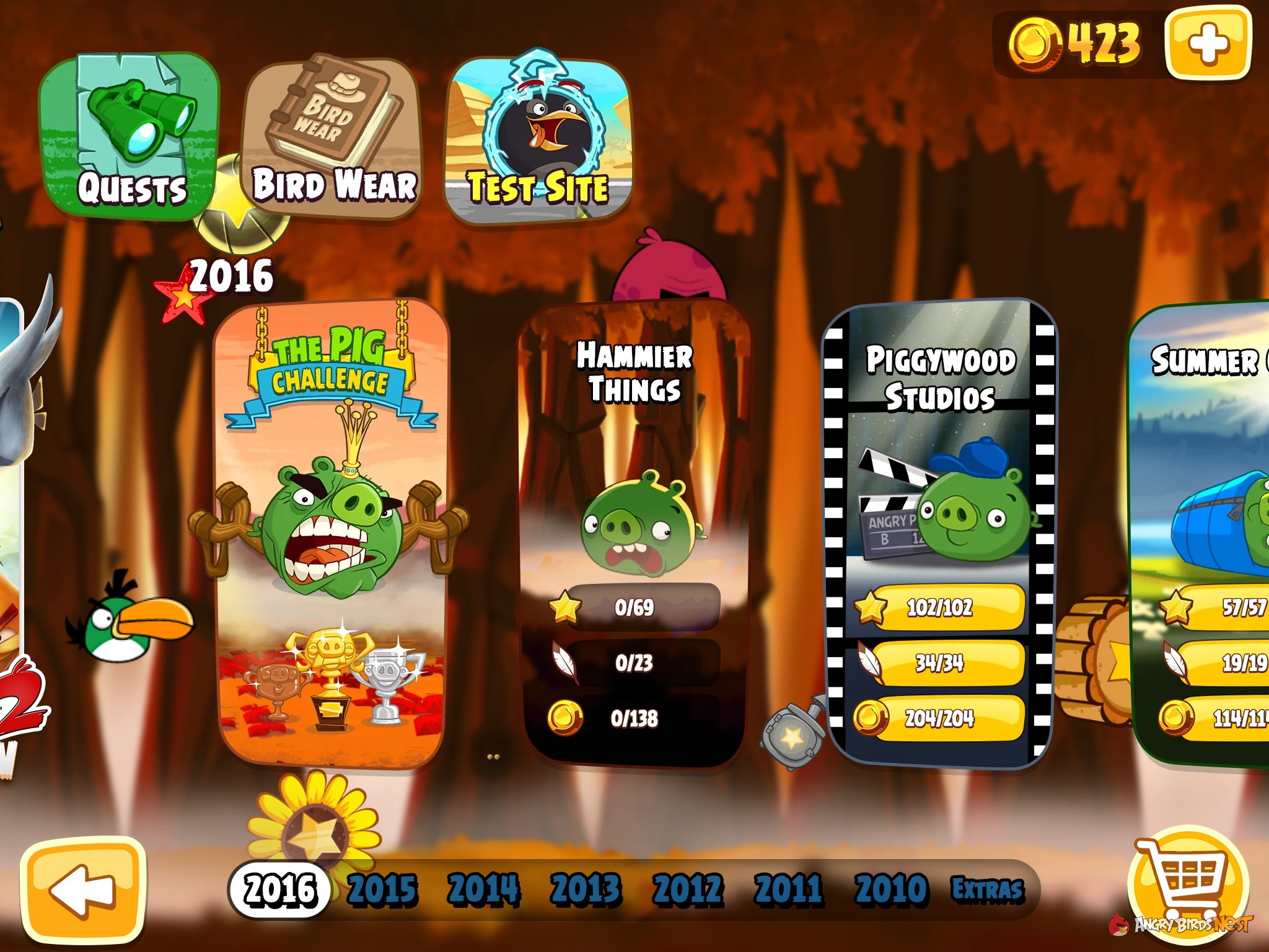 Angry Birds Hammier Things angry-birds-seasons-hammier-things-episode | angrybirdsnest