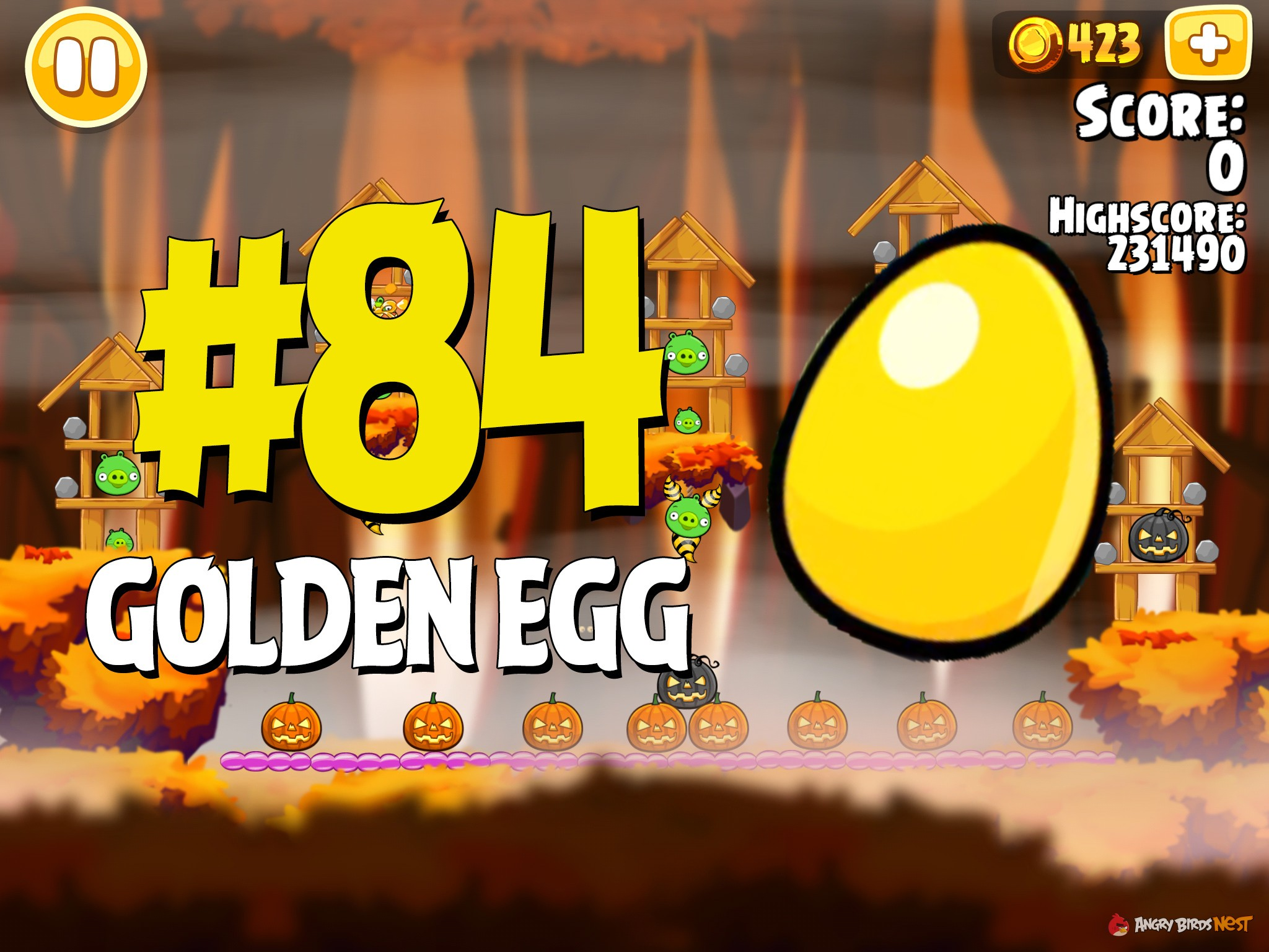 Angry Birds Hammier Things angry birds seasons hammier things golden egg #84