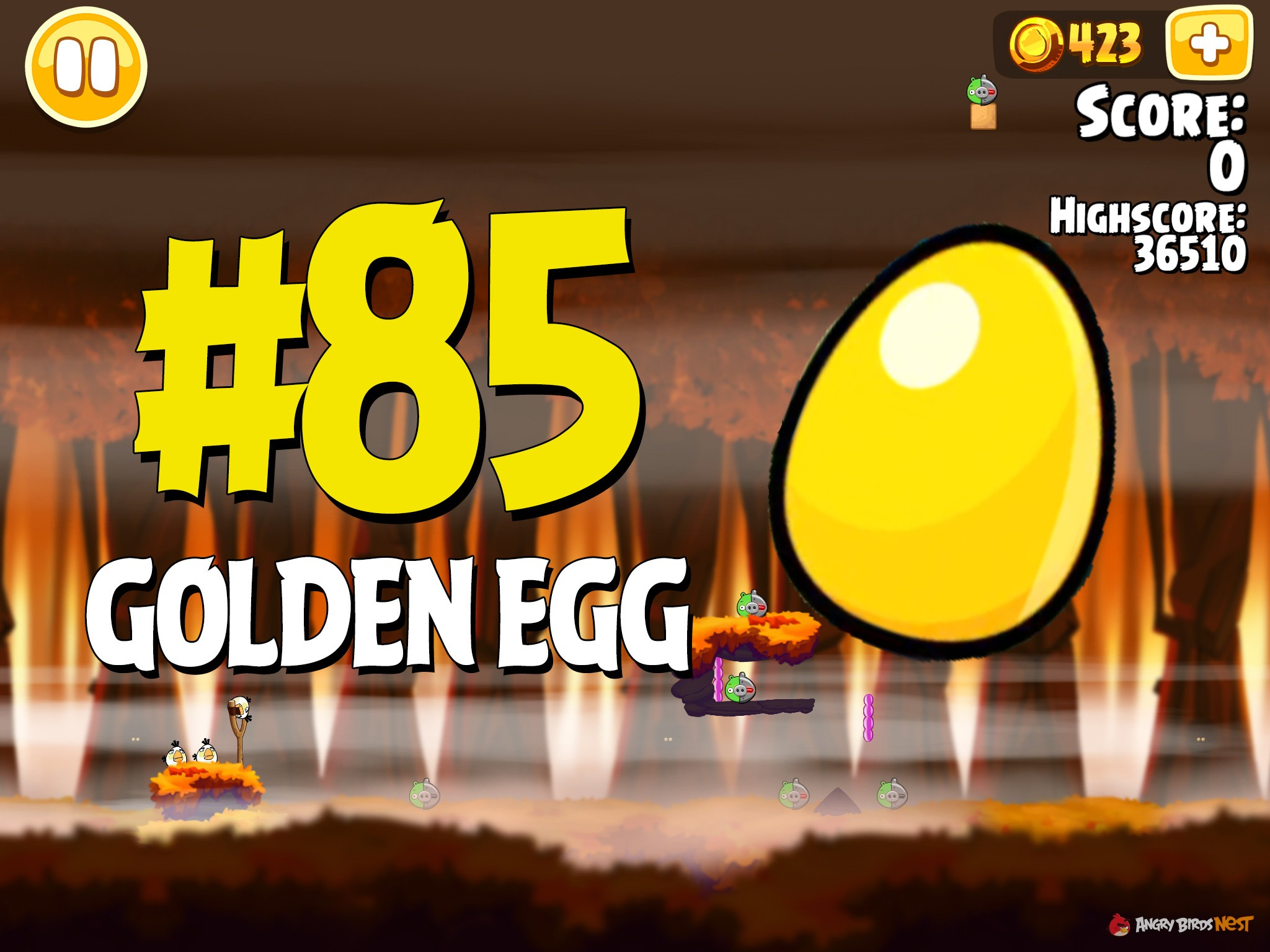 Angry Birds Hammier Things angry birds seasons hammier things golden egg #85