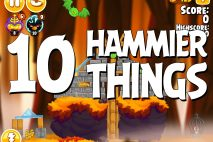 Angry Birds Seasons Hammier Things Level 1-10 Walkthrough