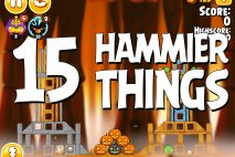 Angry Birds Seasons Hammier Things Level 1-15 Walkthrough