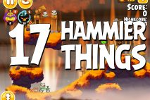 Angry Birds Seasons Hammier Things Level 1-17 Walkthrough