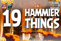 Angry Birds Seasons Hammier Things Level 1-19 Walkthrough