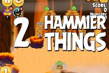 Angry Birds Seasons Hammier Things Level 1-2 Walkthrough