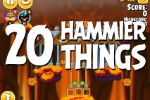 Angry Birds Seasons Hammier Things Level 1-20 Walkthrough
