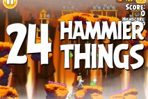 Angry Birds Seasons Hammier Things Level 1-24 Walkthrough