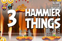 Angry Birds Seasons Hammier Things Level 1-3 Walkthrough