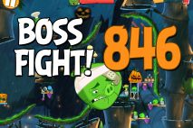 Angry Birds 2 Boss Fight Level 846 Walkthrough – Bamboo Forest Snout Slough
