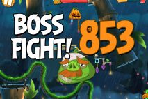 Angry Birds 2 Boss Fight Level 853 Walkthrough – Bamboo Forest Snout Slough