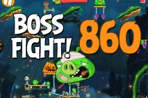 Angry Birds 2 Boss Fight Level 860 Walkthrough – Bamboo Forest Snout Slough