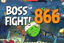 Angry Birds 2 Boss Fight Level 866 Walkthrough – Pig City Porkland
