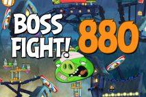 Angry Birds 2 Boss Fight Level 880 Walkthrough – Pig City Porkland