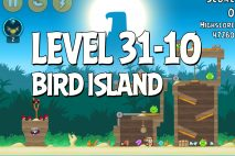 Angry Birds Bird Island Level 31-10 Walkthrough