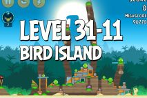 Angry Birds Bird Island Level 31-11 Walkthrough