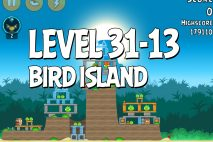 Angry Birds Bird Island Level 31-13 Walkthrough