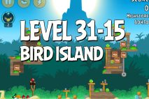 Angry Birds Bird Island Level 31-15 Walkthrough