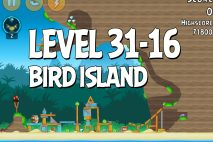 Angry Birds Bird Island Level 31-16 Walkthrough