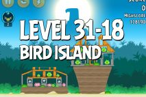 Angry Birds Bird Island Level 31-18 Walkthrough