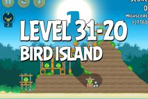 Angry Birds Bird Island Level 31-20 Walkthrough
