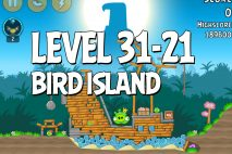 Angry Birds Bird Island Level 31-21 Walkthrough