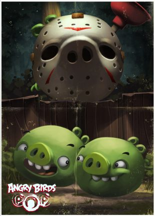 Exclusive Halloween Posters Unlocked in Angry Birds POP ...