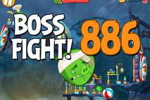 Angry Birds 2 Boss Fight Level 886 Walkthrough – Pig City Porkland