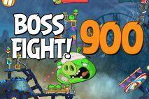 Angry Birds 2 Boss Fight Level 900 Walkthrough – Pig City Porkland