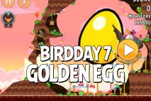 Angry Birds BirdDay 7 Golden Egg Walkthrough