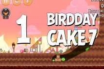 Angry Birds Birdday Party Cake 7 Level 1 Walkthrough