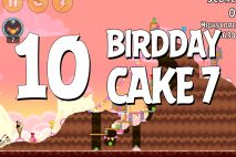Angry Birds Birdday Party Cake 7 Level 10 Walkthrough