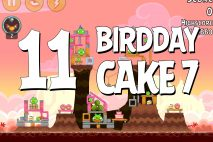 Angry Birds Birdday Party Cake 7 Level 11 Walkthrough
