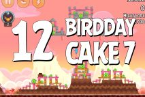 Angry Birds Birdday Party Cake 7 Level 12 Walkthrough