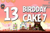 Angry Birds Birdday Party Cake 7 Level 13 Walkthrough