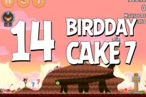 Angry Birds Birdday Party Cake 7 Level 14 Walkthrough