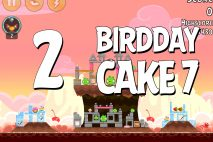 Angry Birds Birdday Party Cake 7 Level 2 Walkthrough