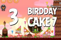 Angry Birds Birdday Party Cake 7 Level 3 Walkthrough