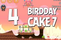 Angry Birds Birdday Party Cake 7 Level 4 Walkthrough