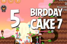 Angry Birds Birdday Party Cake 7 Level 5 Walkthrough