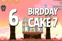 Angry Birds Birdday Party Cake 7 Level 6 Walkthrough