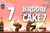 Angry Birds Birdday Party Cake 7 Level 7 Walkthrough