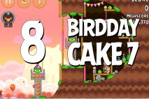 Angry Birds Birdday Party Cake 7 Level 8 Walkthrough