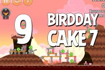 Angry Birds Birdday Party Cake 7 Level 9 Walkthrough