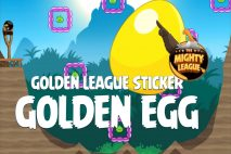 Angry Birds Golden League Sticker Golden Egg Walkthrough