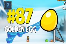 Angry Birds Seasons Ragnahog Golden Egg #87 Walkthrough