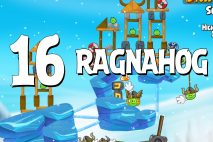 Angry Birds Seasons Ragnahog Level 1-16 Walkthrough